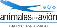 Animales por avion Logo